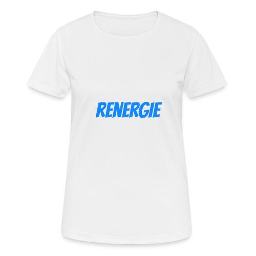cap renergie - Vrouwen T-shirt ademend actief
