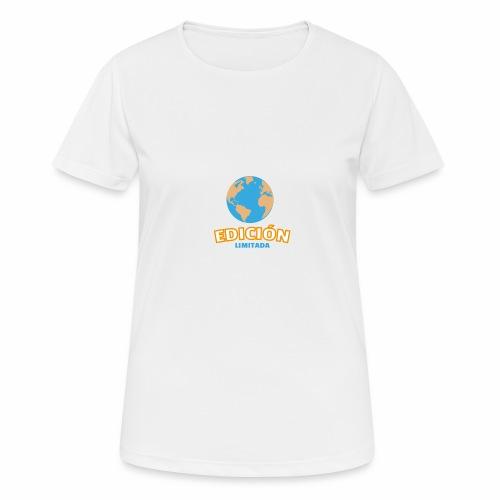 Edición Limitada - Camiseta mujer transpirable