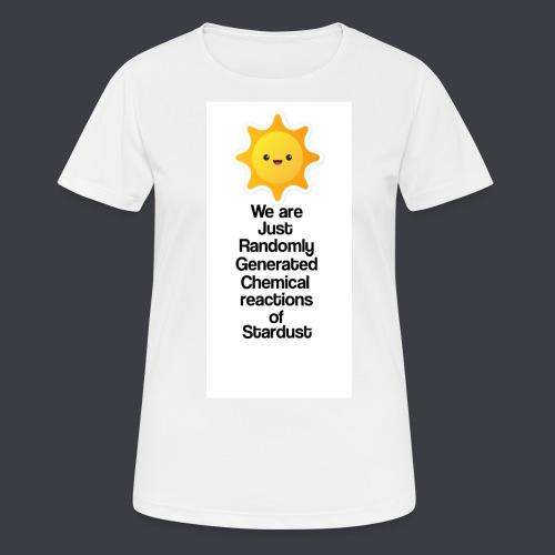t shirt zon - Vrouwen T-shirt ademend actief