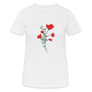 Ma fleur - T-shirt respirant Femme