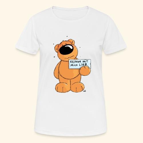 chris bears Keiner hat mich lieb - Frauen T-Shirt atmungsaktiv