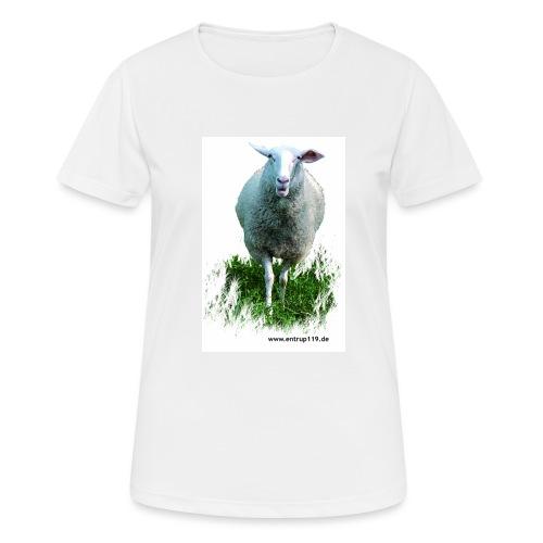 Gemaltes Entrup Schaf - Frauen T-Shirt atmungsaktiv