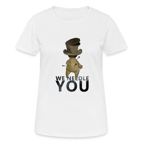 WE NEEDLE YOU - T-shirt respirant Femme