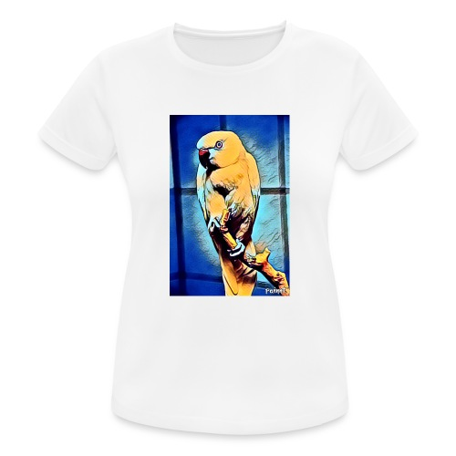 Bird in color - naisten tekninen t-paita