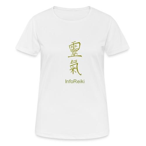kanji oro - Maglietta da donna traspirante