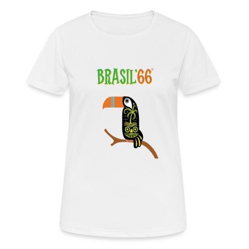 Brasil66 - Pustende T-skjorte for kvinner