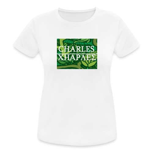 CHARLES CHARLES JUNGLE PRINT - LIMITED EDITION - Women's Breathable T-Shirt