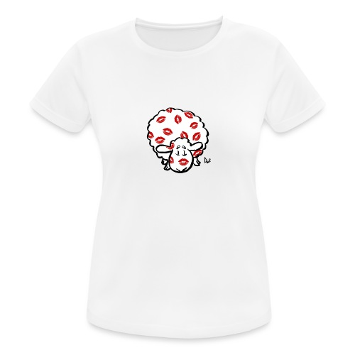 Kiss Ewe - Women's Breathable T-Shirt