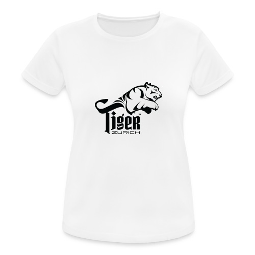TIGER ZURICH digitaltransfer - Frauen T-Shirt atmungsaktiv