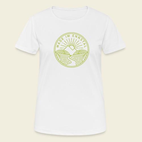 Made im Ennstal, grün - Frauen T-Shirt atmungsaktiv