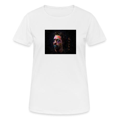 Kuuku - naisten tekninen t-paita