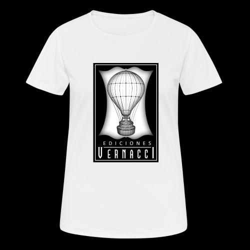 logotipo de ediciones Vernacci - Camiseta mujer transpirable