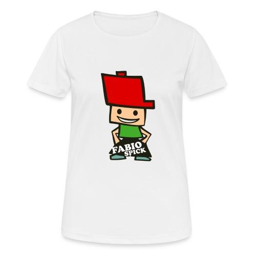 Fabio Spick - Frauen T-Shirt atmungsaktiv