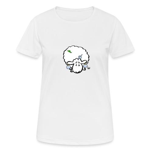 Ovejas del árbol de Navidad - Camiseta mujer transpirable