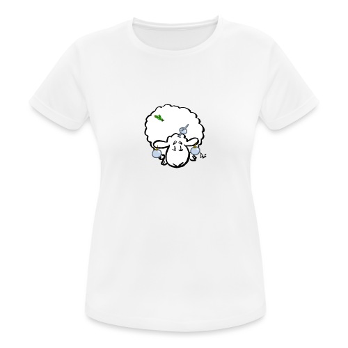 Weihnachtsbaumschaf - Frauen T-Shirt atmungsaktiv