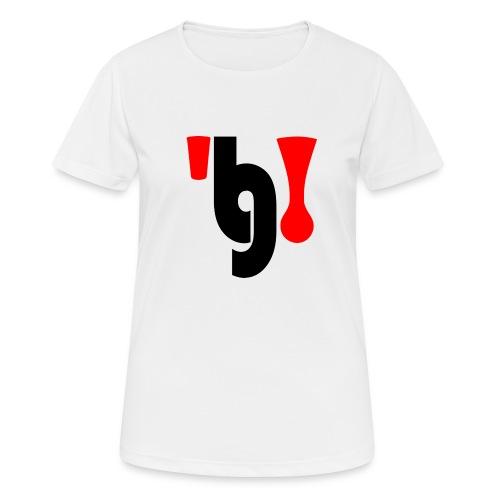 logo_klein - Vrouwen T-shirt ademend actief