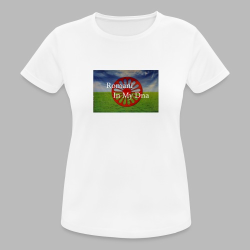 flagromaniinmydna - Andningsaktiv T-shirt dam