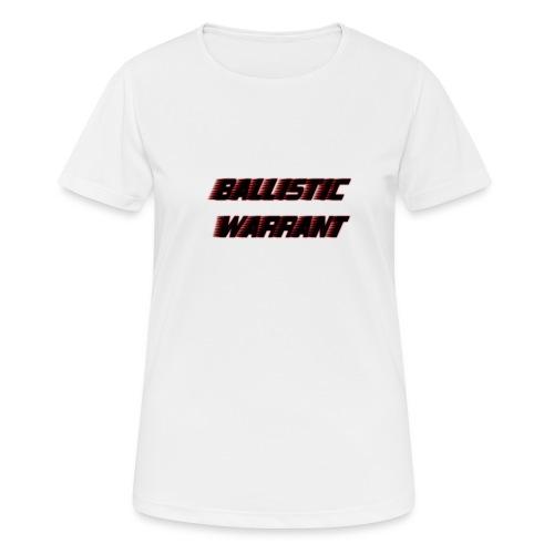 BallisticWarrrant - vrouwen T-shirt ademend