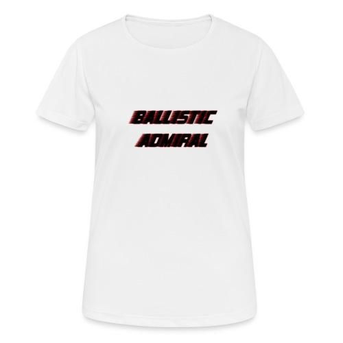 BallisticAdmiral - Vrouwen T-shirt ademend actief