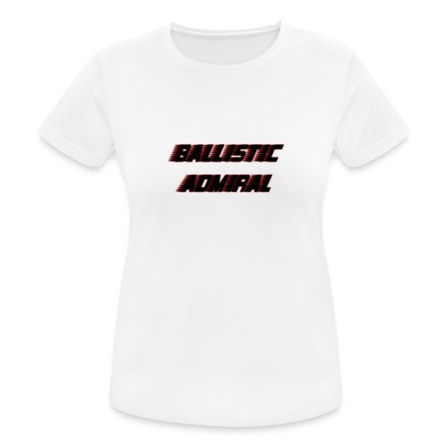BallisticAdmiral - vrouwen T-shirt ademend