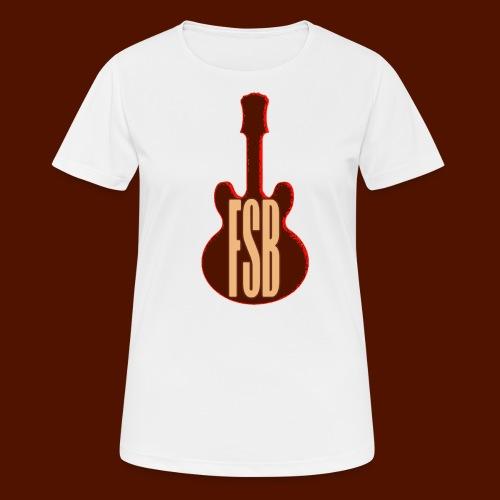 FSB Guitar Logo - Women's Breathable T-Shirt