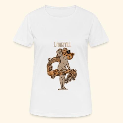 LANDFALL FLORA NEGRA COLOUR - Frauen T-Shirt atmungsaktiv