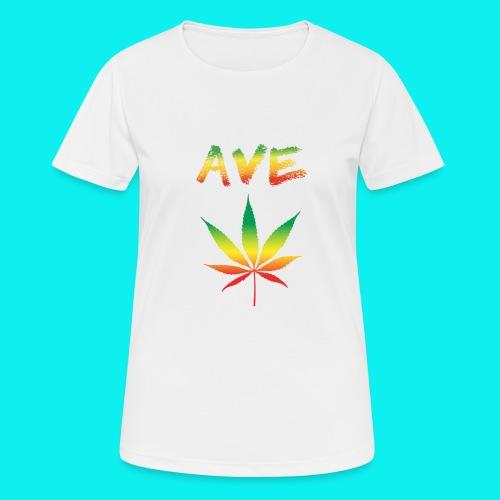 AveMarija - Maglietta da donna traspirante