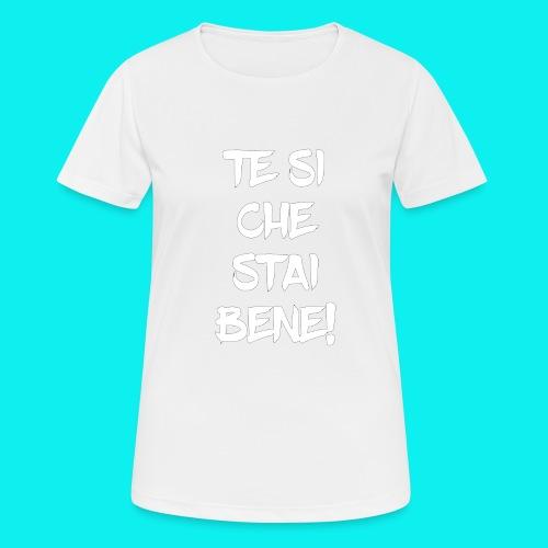 tesiokok - Maglietta da donna traspirante
