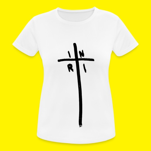 Cross - INRI (Jesus of Nazareth King of Jews) - Women's Breathable T-Shirt