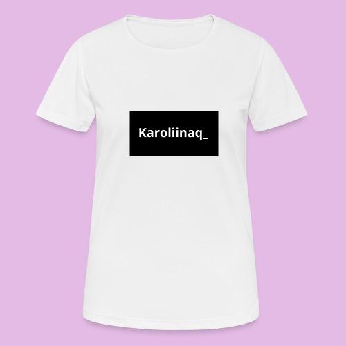 Karoliinaq_ - naisten tekninen t-paita