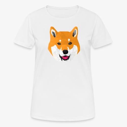 Shiba Dog - T-shirt respirant Femme