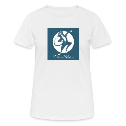 tanzekatze - Frauen T-Shirt atmungsaktiv