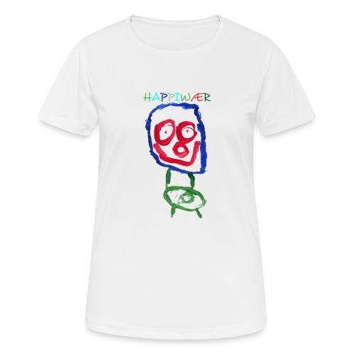 happiwær2 - Dame T-shirt svedtransporterende