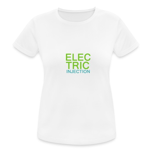ELECTRIC INJECTION basic - Frauen T-Shirt atmungsaktiv