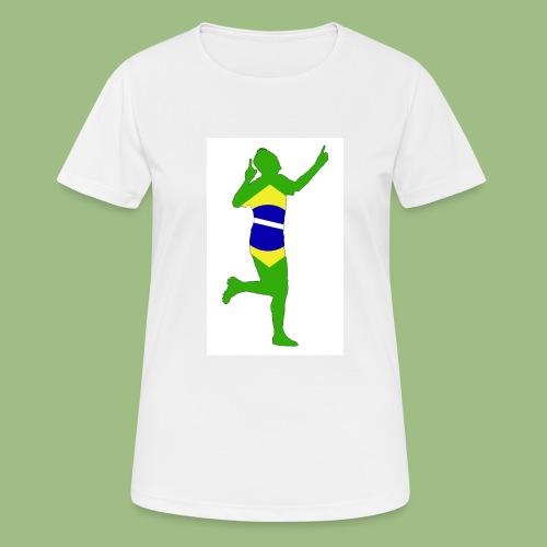 Neymár Brazil - Andningsaktiv T-shirt dam