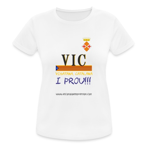 vic dona - Camiseta mujer transpirable