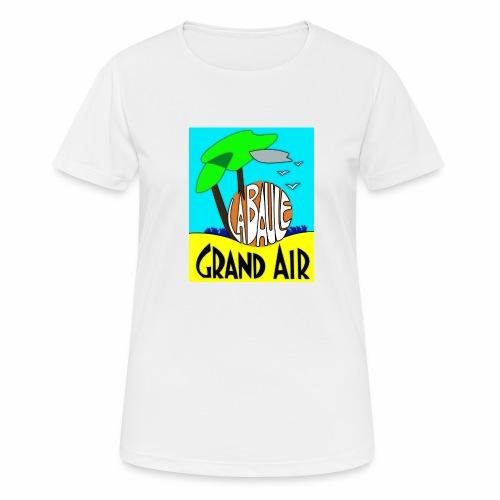 Grand-Air - T-shirt respirant Femme