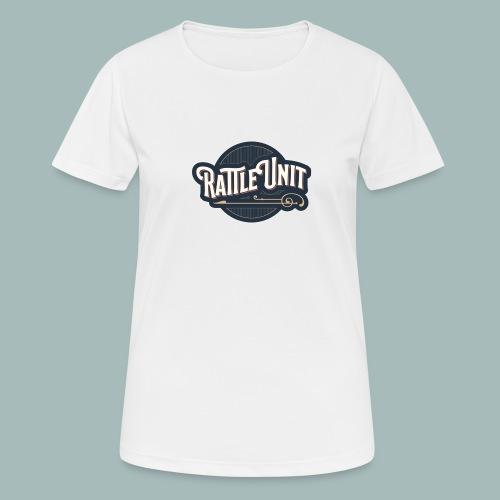 Rattle Unit - Vrouwen T-shirt ademend actief