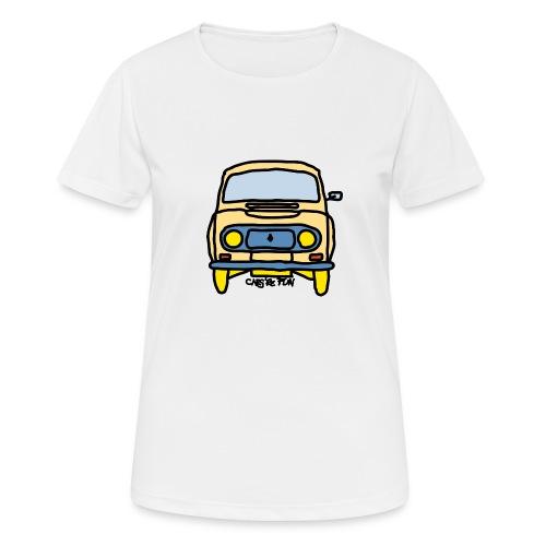 Voiture ancienne mythique française - T-shirt respirant Femme