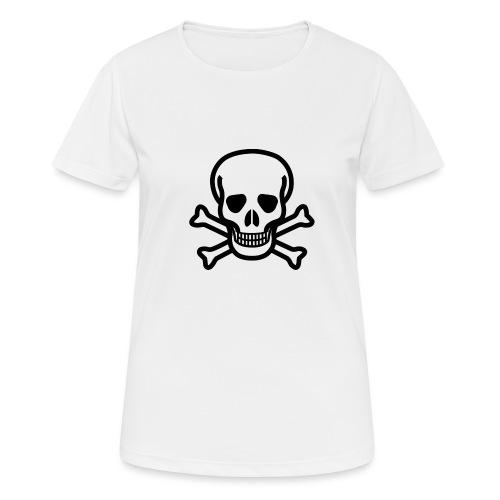 Skull and Bones - Frauen T-Shirt atmungsaktiv