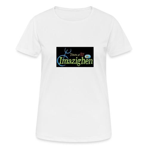 Imazighen ithran rif - Vrouwen T-shirt ademend actief