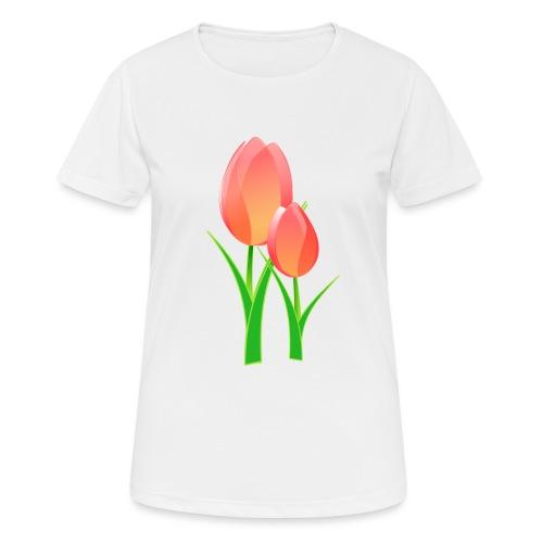 Belle fleur - T-shirt respirant Femme