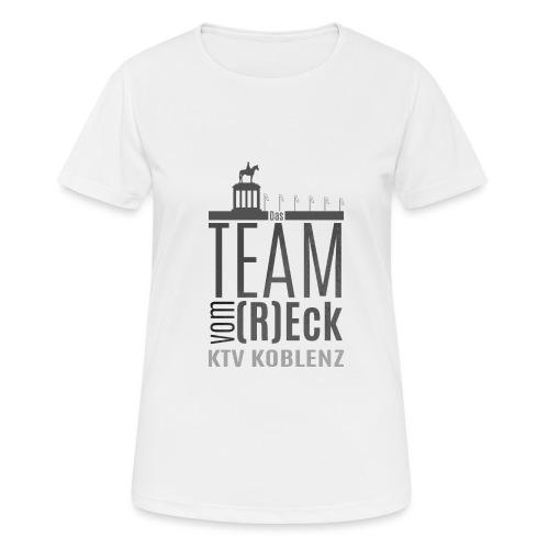 Shirt_Logo_2016_grau - Frauen T-Shirt atmungsaktiv