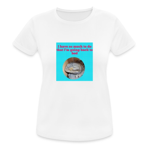 The sleeping dragon - Women's Breathable T-Shirt