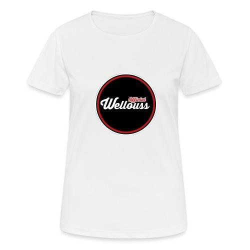 Wellouss Fan T-shirt | Rood - Vrouwen T-shirt ademend actief