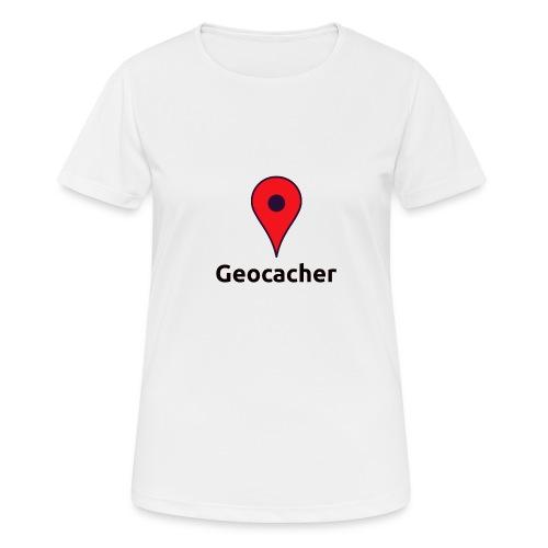 Geocacher - Frauen T-Shirt atmungsaktiv