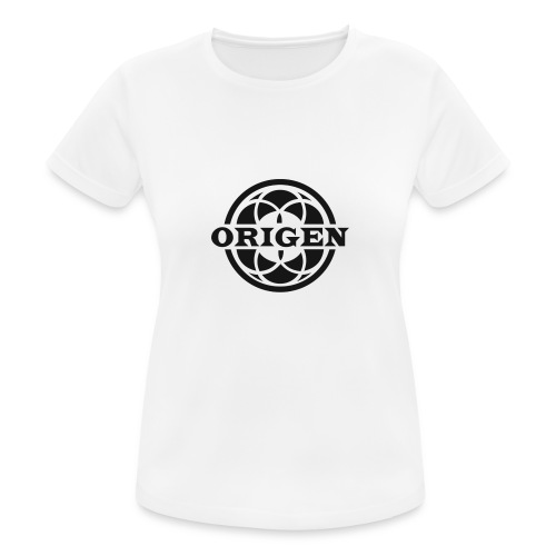 ORIGEN Café-Billar - Camiseta mujer transpirable