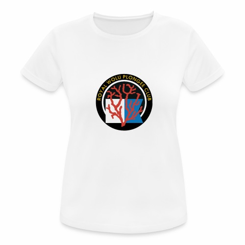 Royal Wolu Plongée Club - T-shirt respirant Femme