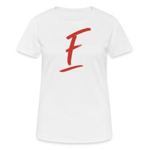 Radio Fugue F Rouge - T-shirt respirant Femme