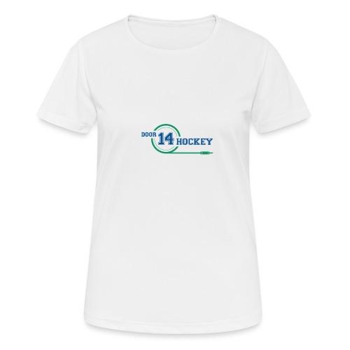 D14 HOCKEY LOGO - Women's Breathable T-Shirt